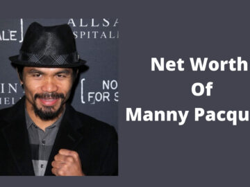 Net Worth Of Manny Pacquiao