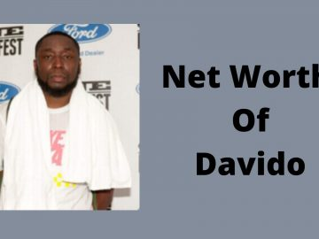 Net Worth Of Davido