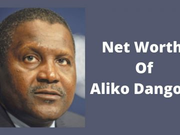 Net worth of aliko dangote