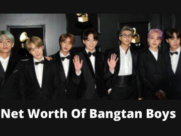 Net Worth Of Bangtan Boys (1)