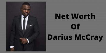 Net Worth Of Darius McCray