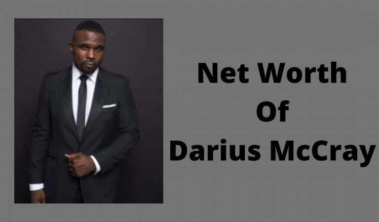 How Much Is The Net Worth Of Darius McCrary 2021?