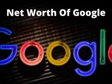 Net Worth Of Google