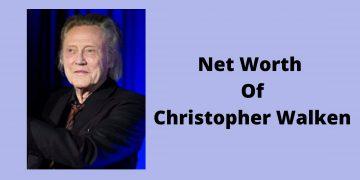 Net worth of Christopher Walken