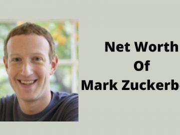 net worth of mark zuckerberg