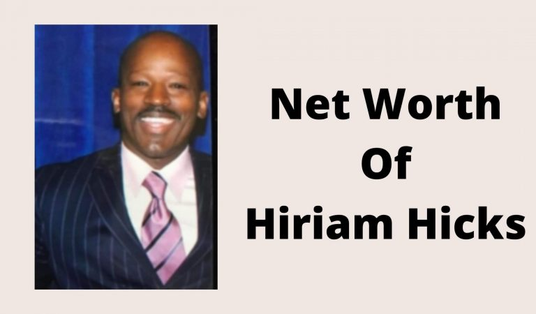 How Much Is The Net Worth Of Hiriam Hicks 2021?