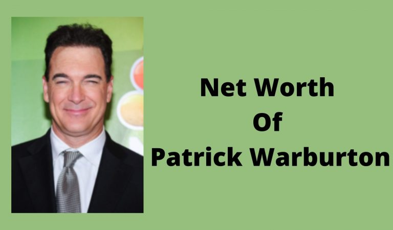 How Much Is The Net Worth Of Patrick Warburton 2021?