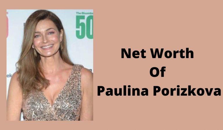 How Much Is The Net Worth Of Paulina Porizkova 2021?