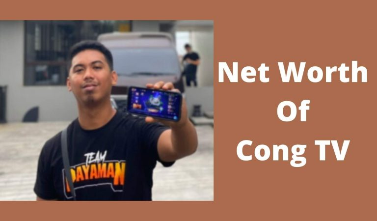 How Much Is The Net Worth Of Cong TV 2021?